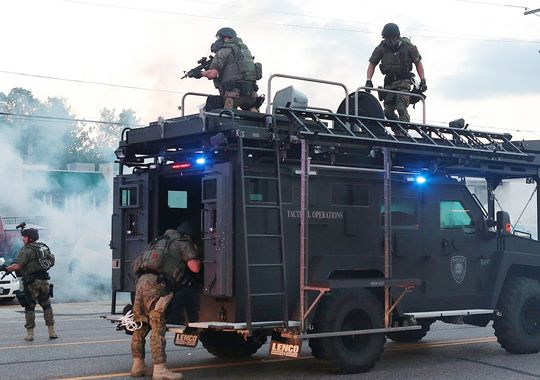 The Story of Ferguson - Police Militarization