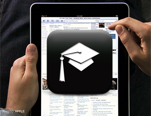 iPads for Education, Not Entertainment