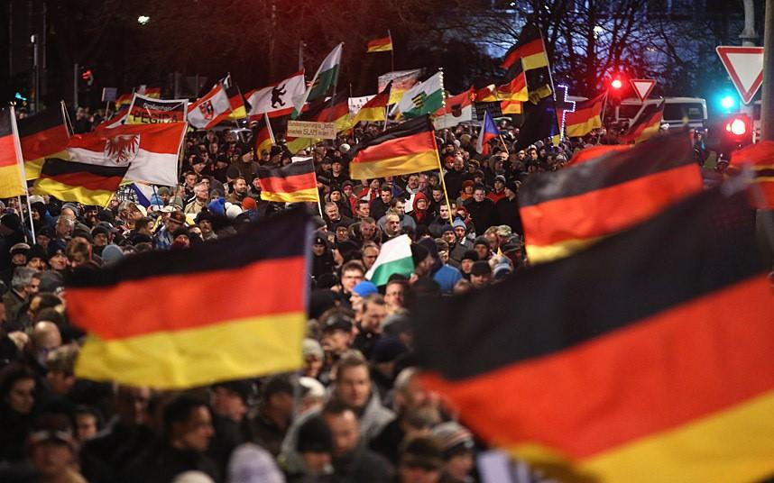 PEGIDA+Demonstrations+And+Anti-Protests
