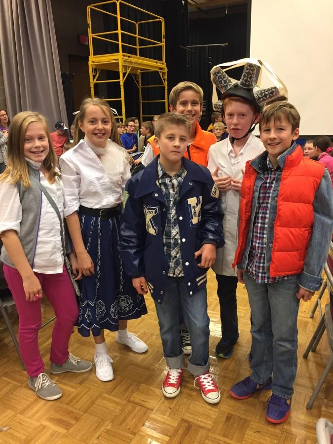 Students of the All Saints Academy St. Joseph Team, coached by SJP seniors Marisa Gaetz and Justin Terhaar, as characters from