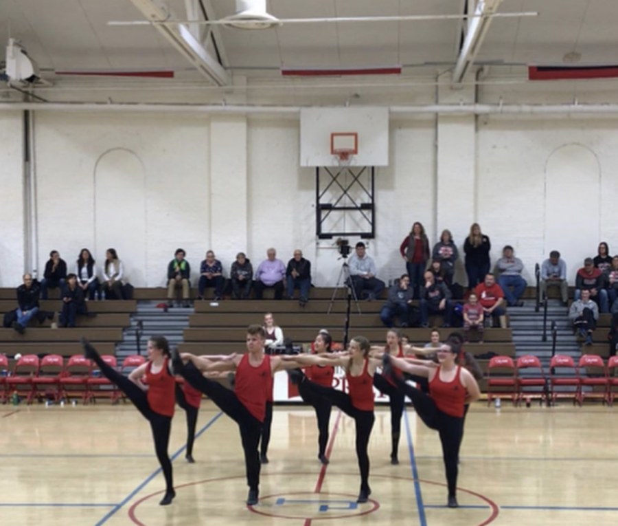 Saint John's Prep Dance Team