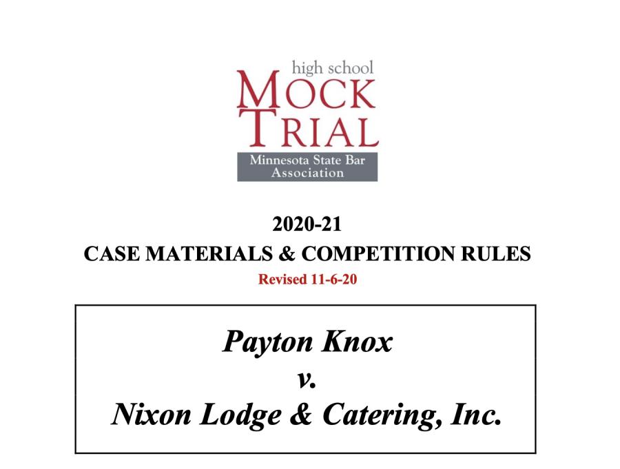 Mock Trial 2020-21 Season